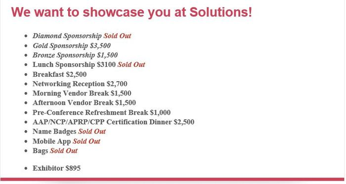 Solutions Exhibitor Sponsor 2