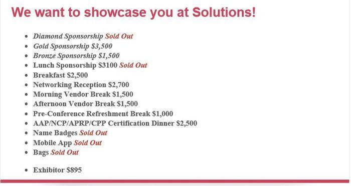 Solutions Exhibitor Sponsor 2